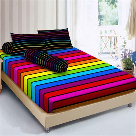 Harga Sprei Merk Rainbow sprei d luxe rainbow kintakun collections shop