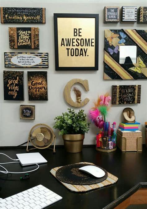 gold office accessories ideas  pinterest gold