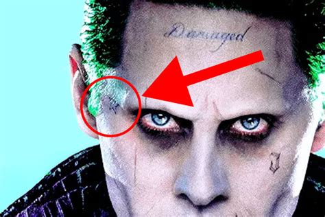 Suicide Squad: Decoding All 16 Of Jared Leto's Joker ...