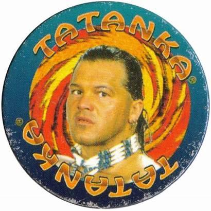 Wrestling Federation Wwf Panini Caps Tatanka