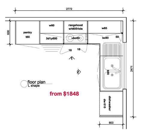 kitchen design floor plans l shaped kitchen floor plans kitchen floor plan
