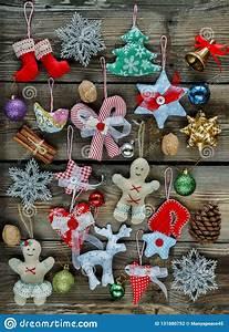 Homemade, Christmas, Toys, Christmas, Tree, Decorations, 2019, 2020, W, Stock, Photo