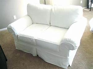 Two cushion sofa slipcover processcodicom for L shaped couch covers target