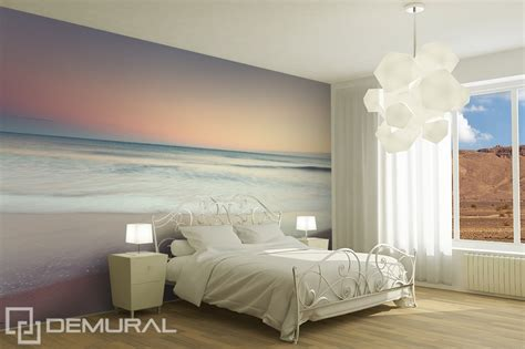 modele de chambre peinte meeresrauschen fototapete für schlafzimmer fototapeten
