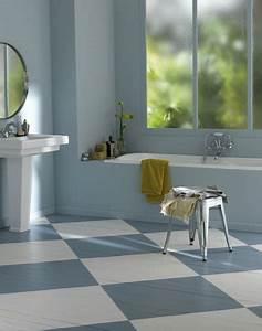 peindre du carrelage sol dans la salle de bain i deco cool With couleur sol salle de bain