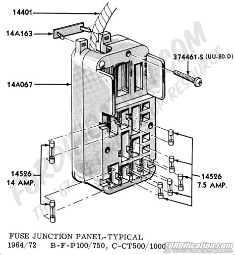 1969 Ford Thunderbird Fuse Box by 1964 Ford Fuse Box Detailed Schematics Diagram