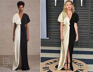 Miley Cyrus In Prabal Gurung - 2018 Vanity Fair Oscar ...