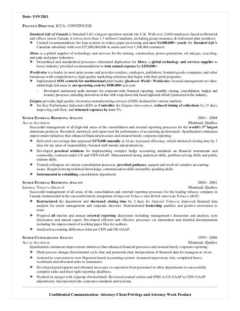 Cpa Resume by Resume Format Resume Writing For Cpa