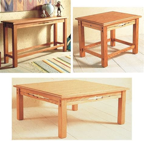southwest trio  tables large format paper woodworking