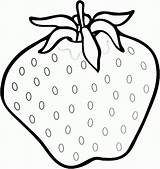 Strawberry Coloring Printable Fresh Strawberries Fruit Colouring Sheets Printables Fruits Getcolorings Getcoloringpages Templates Getdrawings Yummy sketch template