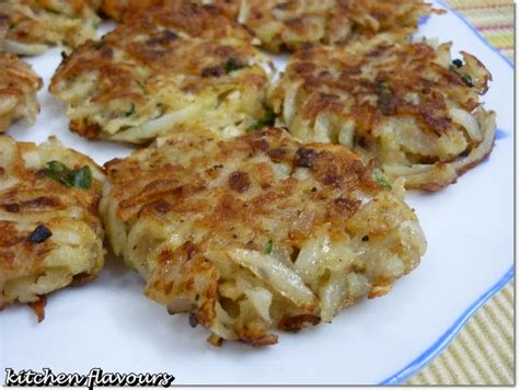 kitchen flavours  fashioned potato pancake