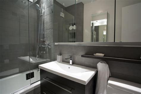 powder room basins larged bathroom ideas with black rug and gray stine wall