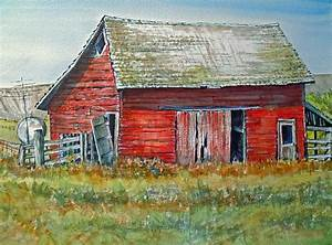 red barn painting by lynne haines With barn painting cost