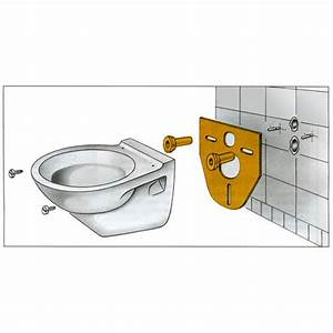 Wand Wc Montage : wc schallschutzset montage eckventil waschmaschine ~ Watch28wear.com Haus und Dekorationen