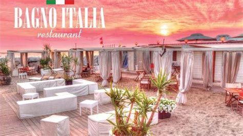 bagno italia marina di pisa ristorante bagno italia a pisa menu prezzi immagini