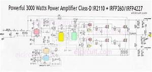 3000 Watts Power Amplifier Class D Mosfet Irfp260