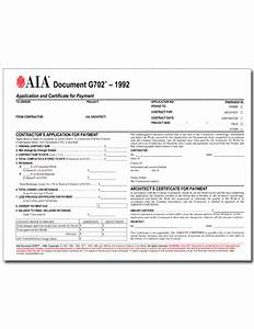 aia form g702 free download With aia a305 template