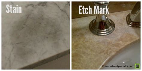 honed marble countertop cleaning
