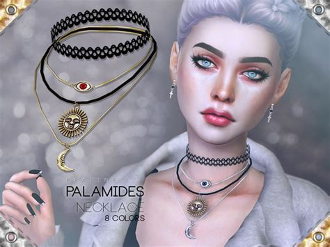 Palamides Necklace by Pralinesims at TSR » Sims 4 Updates
