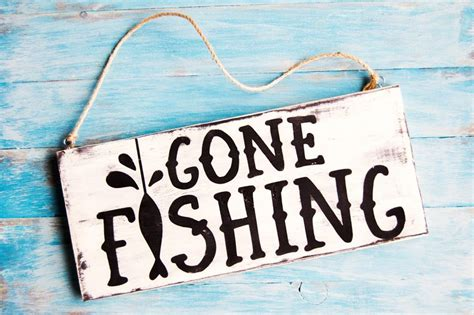 fishing wood sign  dad  images