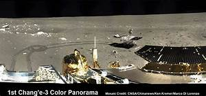 1st 360 Degree Color Panorama from China's Chang'e-3 Lunar ...