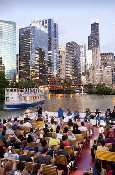 Chicago Architecture Boat Tour October by See It All Chicago Mini Bustours