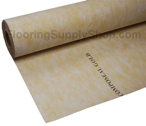 isolation membrane composeal gold crack isolation waterproof roll by flooringsupplyshop com