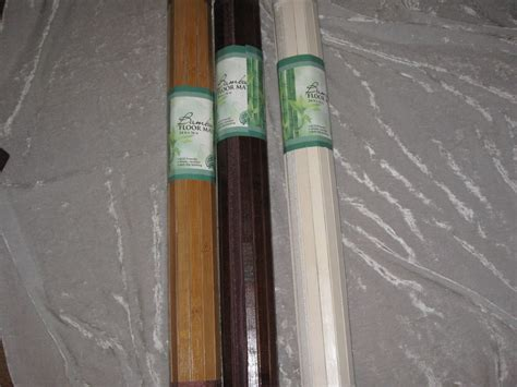 water resistant bamboo flooring natural bamboo floor mat water resistant walkway kitchen bathroom new ebay