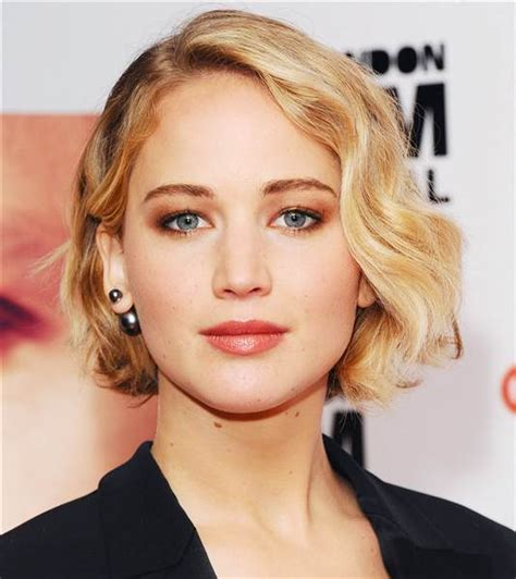 Jennifer Lawrence Has Bangs
