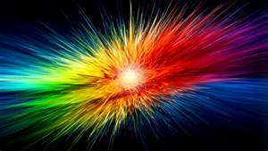 Supernova Rainbow Explosion 1920x1080 HD Image Abstract & 3D