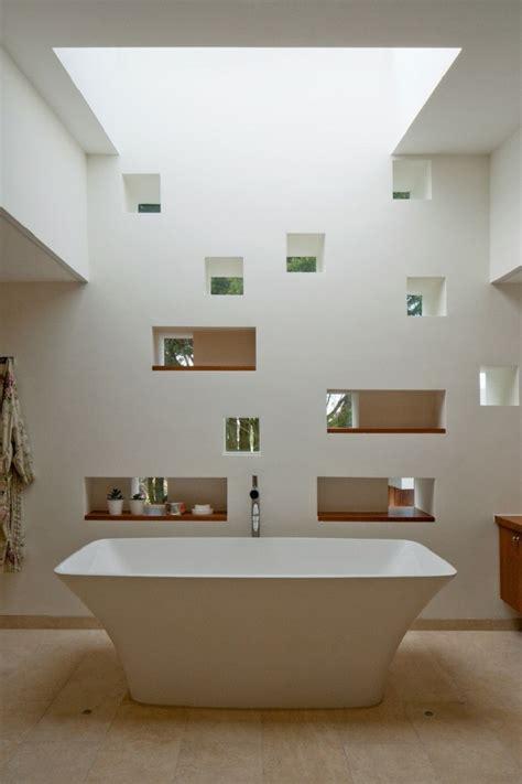 interiores minimalistas banos modernos  elegantes