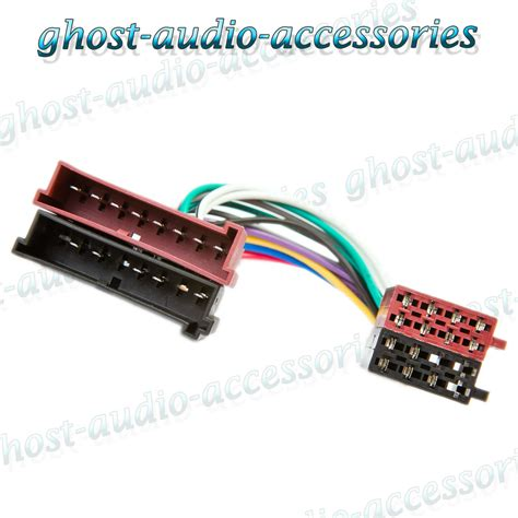 Ford Focus Iso Car Radio Stereo Harness Adapter Wiring