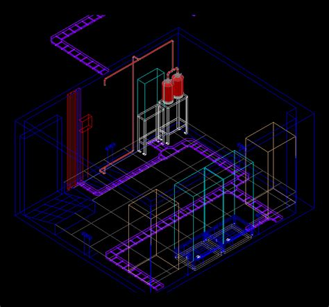 data center   dwg full project  autocad designs cad