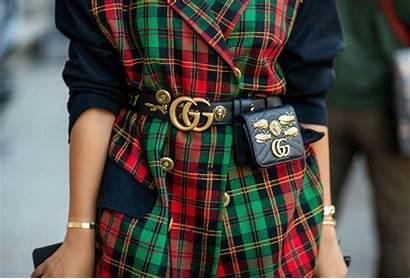 Gucci Belt Brand Luxury Bag Wearing Woman