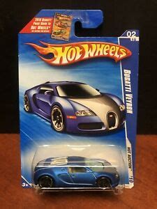 New (click on picture for larger image). Hot Wheels 2010 Bugatti Veyron Satin Blue EM5130 | eBay