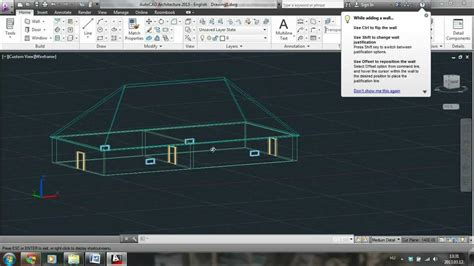 Autocad Architecture 2013  Tutorial For Beginners