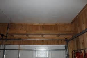 Free Standing Cabinet Shelves by Shelves Over The Garage Door The Cavender Diary