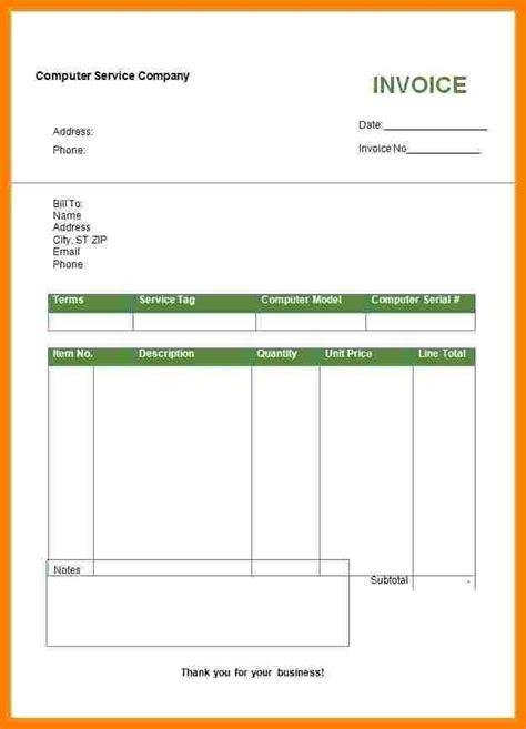 bill format  word  sample travel bill