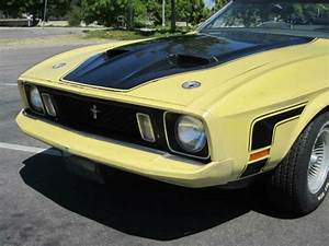 "1973 Mustang Convertible ""Mach1""-Q Code 351 4V (CJ) C6. CA original,many options for sale - Ford ..."