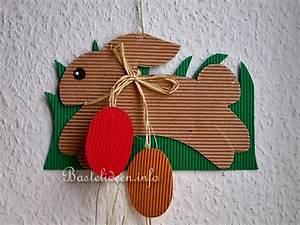 Ostern Basteln Mit Kindern : basteln mit kindern fensterbild osterhase mit eier ~ Buech-reservation.com Haus und Dekorationen