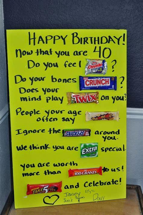 happy birthday signs   candy bars cakepinscom