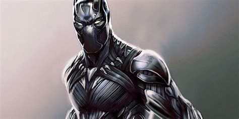 Black Panther Concept Art Shows Character's Early Designs