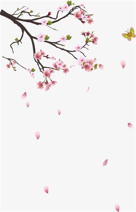 foto de Galhos De Cerejeira Decoração Planta Cor De Rosa PNG e