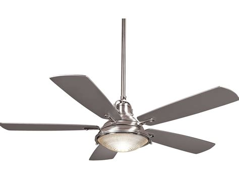 ceiling fan with multiple lights minka aire groton polished nickel two light 56 39 39 wide