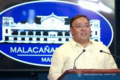 Roque Spokesperson Presidential Harry Trump President Manila