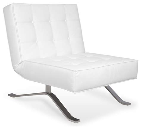 wave one white lounge chair modern armchairs and accent