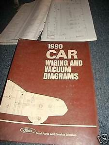 1990 Ford Festiva Factory Ford Wiring Vacuum Diagrams