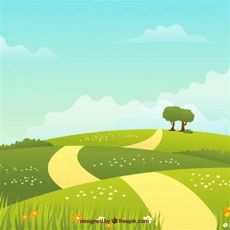 image result  countryside vector landscape tutorial