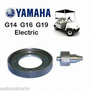 Yamaha G14  G16  G19 Electric Golf Cart High Speed Gears 8
