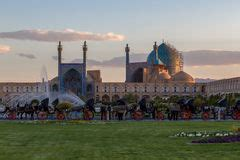 jame abbasi mosque esfahan iran editorial photo image